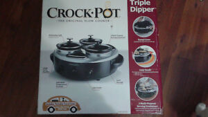 Triple Dipper Crockpot Cambridge Kitchener Area image 1