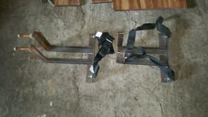 RV chassis seat belts and brackets