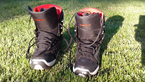 TYPE A snowboard boots for sale.