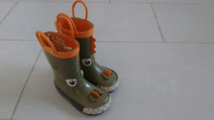 Toddler rubber boots