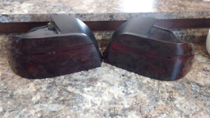 BMW tail lights and mirrors
