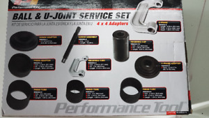 Ball & u-joint service set