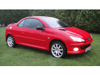 Peugeot 206 1.6 16v 2005MY Coupe Cabriolet Sport - BEAUTIFUL EXAMPLE