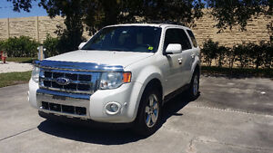 2010 FORD ESCAPE LIMITED VUS