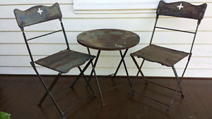 Patio or garden set - rustic Lilyfield Leichhardt Area Preview