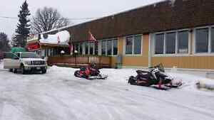 Lease weekly $300 monthly  $900 students retire snowmobile