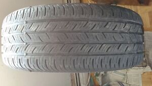2 - Continental all season tires. 205/55R16. $60. call 819-230-9