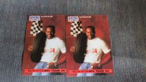 Walter Payton NFL card(2)