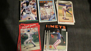 "Dwight ""Doc"" Gooden MLB cards(12)"