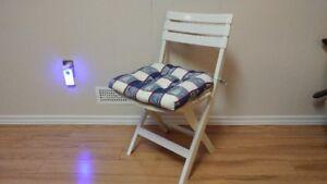 Nautical Folding Chair Cushion