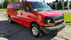 2010 Chevrolet express allongé ultra propre