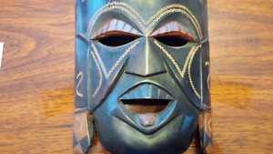 Authentic Hand carved Traditional Kenyan Tribal Mask