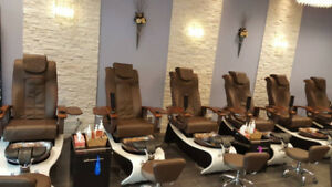 Nails and Spa  Pedicure Chairs, working stations, Equipments