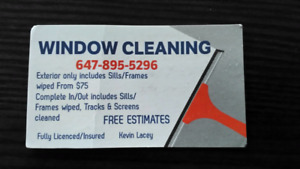 Window Cleaning Special