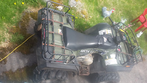 4x4 Arctic Cat and spare parts for sale!!
