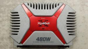 Sony Xplod 2ch Bridegable Car Amp