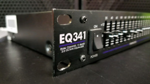 Art EQ241 stereo 15 band equalizer, rackmount