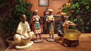 figurines africaines a vendre
