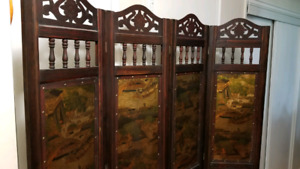 Authentic Chinese Solid Wooden Wall Separators