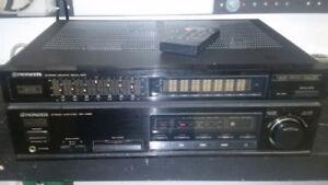 Pioneer SA-1480 stereo amp with EQ