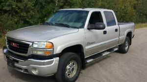 2004 GMC Sierra 2500 HD  189 km