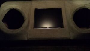 Speaker Box with Computer Screen