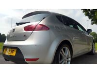 SEAT Leon 2.0 TDI CR FR 140PS Good / Bad Credit Car Finance (silver) 2011