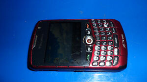 Blackberry cell phone on telus $40.