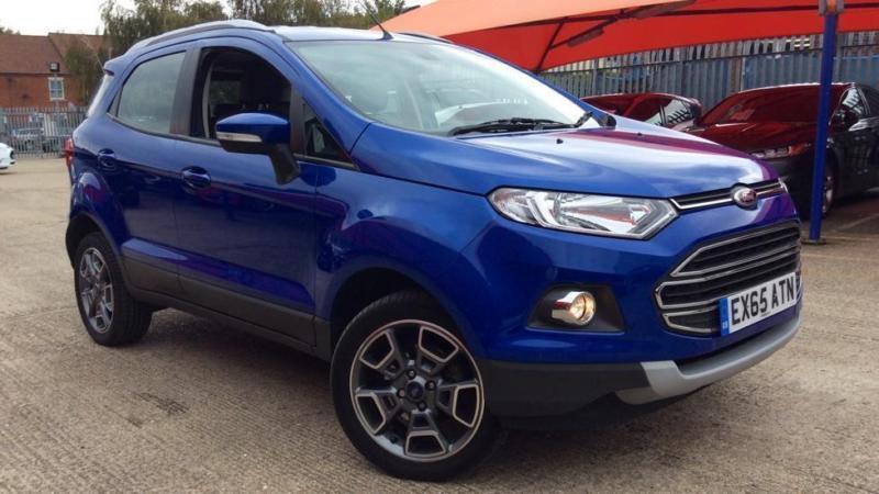 2015 Ford EcoSport 1.0 EcoBoost Titanium 5dr (X-P Manual Petrol Hatchback