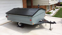 Covered Utility Trailer for Camping or Misc.