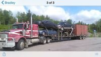 Hauling cars and furniture east and west