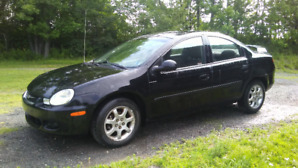 for sale....2002 Chrysler neon