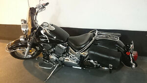 2007 Yamaha V-Star Classic, low and loud, lots of extras