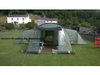 Vango Astoria 600 Tent (6 man) + Extension + Carpet *Immaculate condition*