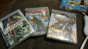PS3 uncharted (1-3)