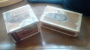 Nine Vintage Cigar Boxes Kitchener / Waterloo Kitchener Area image 1
