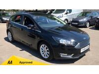 2016 Ford Focus 1.6 125 Titanium Powershift Automatic Petrol Hatchback