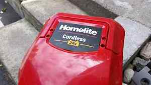 Homelite 24V Electric Lawn Mower Battery West Island Greater Montréal image 2