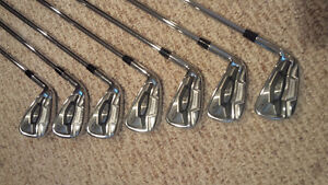Left handed Top of the line irons!! Callaway Apex Forged