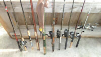 quality used fishing rods reels  Shimano Garcia  tackle gear