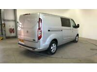 2017 FORD TRANSIT CUSTOM 290 TDCI 130 L2H1 LIMITED DOUBLE CAB 6 SEAT CREW VAN LW