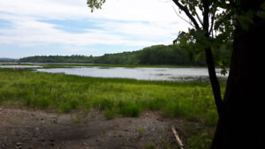 3.5 acres approx of waterfront land