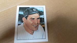 Yogi Berra 1983 TCMA 50 years of Yankee all star card