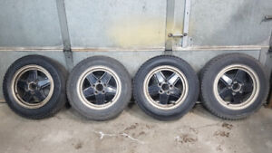 "Volkswagen Jetta Winter Wheel Kit 15"" with Original Ronal Rims"