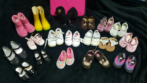New and EUC Girls assorted size shoes and boots