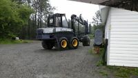 2006 ponsse buffalo king 13800hrs and service trailer