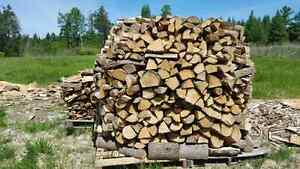 Properly Seasoned Hardwood Firewood