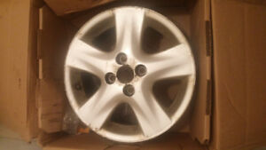 2008 Toyota Yaris Alloy Rim - dented