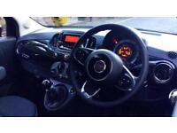 2016 Fiat 500 1.2 Pop Star 3dr Manual Petrol Hatchback