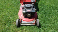 Toro Lawn Mower and electric weed eater